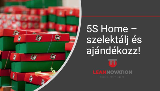 5S Home – Szelektálj és adományozz!