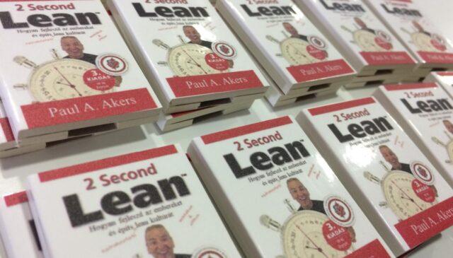 Excellent Books Meetup – 2 Second Lean könyvbemutató
