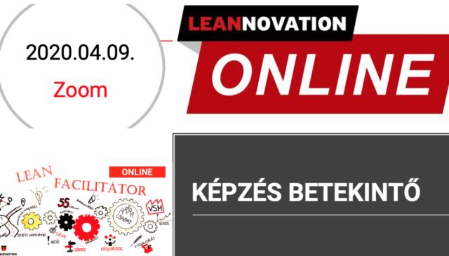 Lean Facilitátor Online – Képzés betekintő