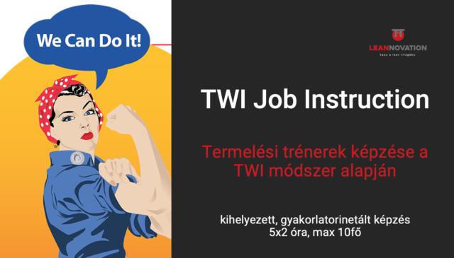 TWI JI – Termelési trénerek