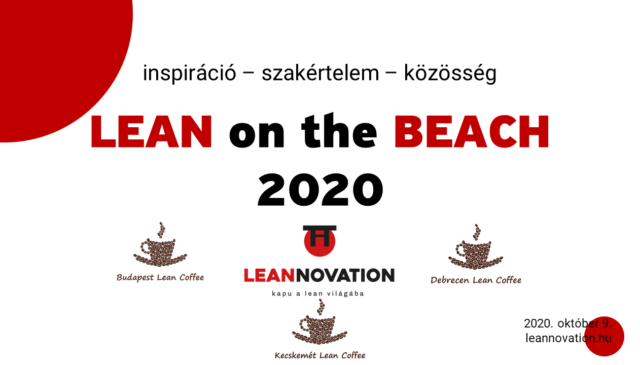 Lean on the Beach konferencia 2020