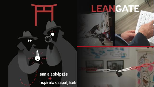 Lean Gate – lean csapatépítő és szabadulószoba