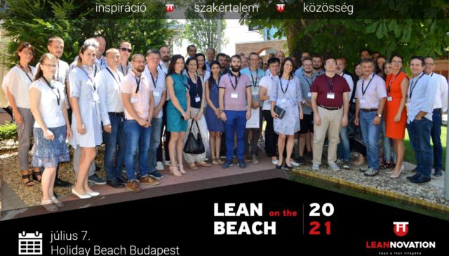 Lean on the Beach 2021 – konferencia a lean jegyében