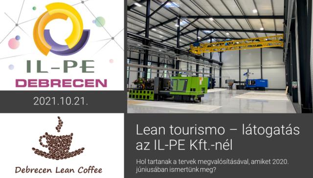 Debrecen Lean Coffee – Látogatás az IL-PE Kft.-nél